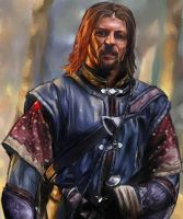 Sean Bean as Boromir by ghandaiah