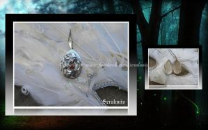 'Mysterious dream' sterling silver locket pendant by seralune