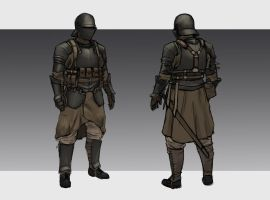 Republic Medium Infantry by L3monJuic3