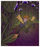 Invasion of the Corn Monsters by superlemon