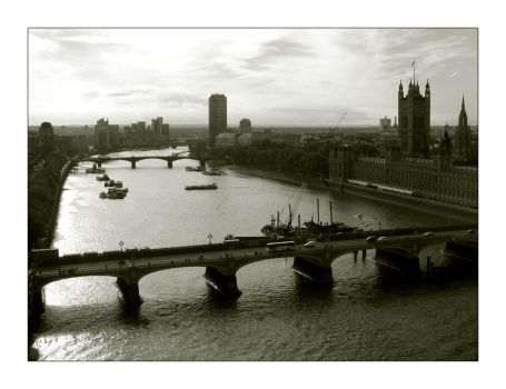 Thames from the Eye. by DennyC