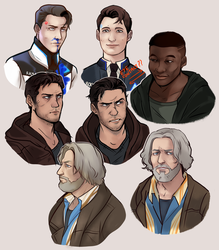 dbh boys by TheHobbyHorse