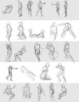 Gesture Drawings June 13 2014 (A) by bgates87