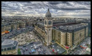 GARE de Lyon by bulgphoto