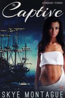 Erotic Romance Ebook Cover: The Captive by Dafeenah
