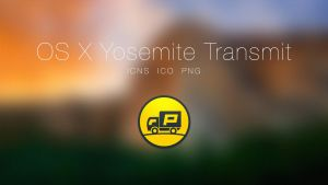 OS X Yosemite Transmit App by JasonZigrino