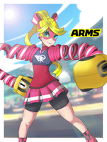 Ribbon Girl Arms HYPE by SarukaiWolf