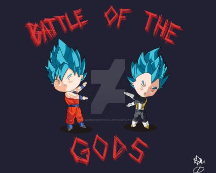 Battle of the Gods by CowDemonOfficial