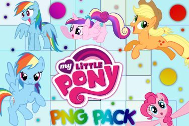 My Little Pony Png Pack by GAGA-LAXY