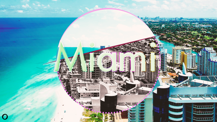 Miami graphic by illumnious
