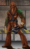 Commission: Wookie by LRCommissions
