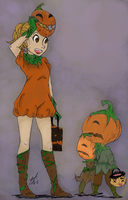 Pumpkin Kiddies by arima