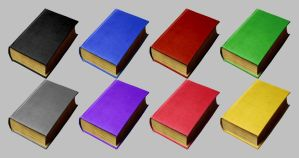 Book Icons for Vista by CitizenJustin