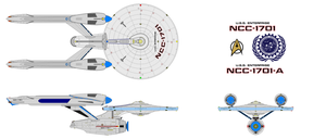 Star Trek Next Sequel Connie Refit (Proposal 01) by Gundam1701