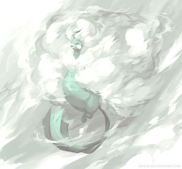 Dance of Clouds by Kipine