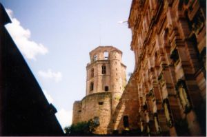 The Tower, Heidelberg Castle by Abadoss