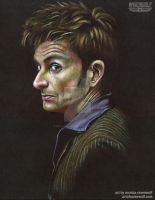 The 10th Doctor - David Tennant by MonicaRavenWolf
