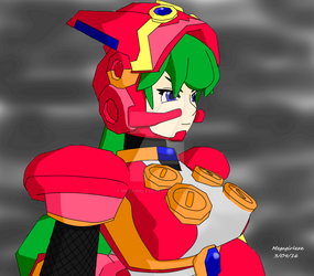 Cloudy day - Marino - Megaman X Command Mission by MegaGirlExe