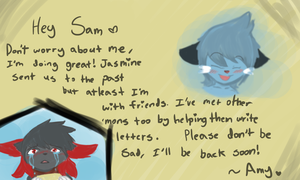 E7-A letter for you by FloofAngel