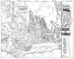 FLASH #170 Pg 1+2 Double-Page Spread KOLINS/DH by DRHazlewood