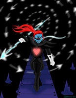 Undyne the Undying by Yukimaru-kun
