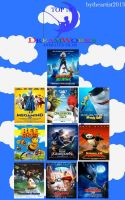My Top 10 Favorite DreamWorks Animated Films by Toongirl18