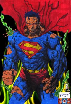 War torn Superman    colab by CDL113