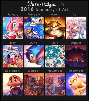 ART SUMMARY 2016 by Shira-hedgie