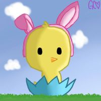 Easter Chick by Trollan-gurl22