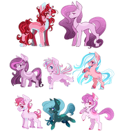 [CLOSED] Pony Adopts auction: Points or PP by LunnaDeLuna