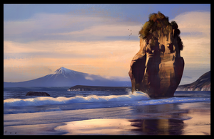 New Zealand Coast by WojtekFus