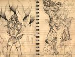 sketchies II by Roggles