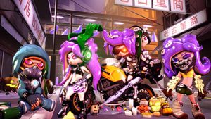 Trick or Octoling (Halloween 2017) by Poool157