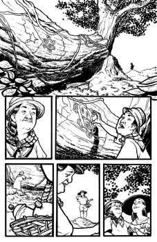 Pages for a Puerto Rico benefit! 1 by michaelharris