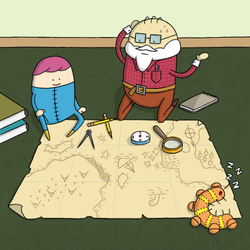 Arthur and Charles Adventure Diary 6 by moopf