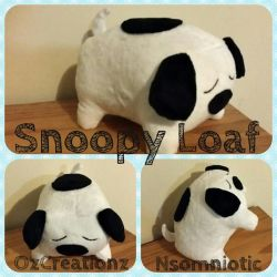 Snoopy Loaf by Nsomniotic