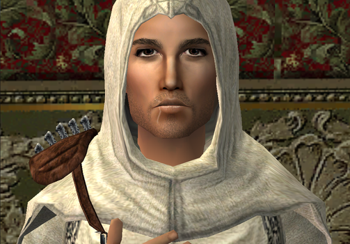 Altair~ Close up face shot by Ladylorenna