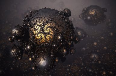 The Viral Fractalization of the Dragon Warts by FractKali