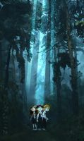 The Forbidden Forest by CaterinaFrata