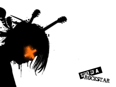 soul of a rockstar - wallpaper by ndefined
