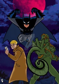 Justice League Action Dark by nic011