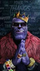 thanos by queenElsafan2015
