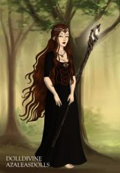 Hobbit Witch by LadyIlona1984