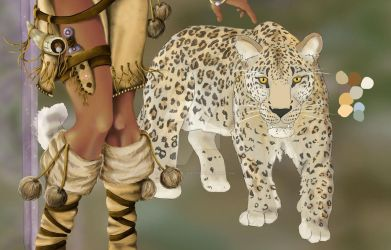 Leopard WIP by Therena-C-Art