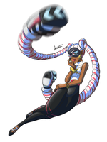 ARMS - Twintelle by Aeridis