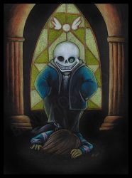 Undertale: Your Sins Weighing on Your Neck by benwhoski