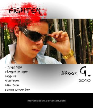 Fighter, back cover by roooozbeh