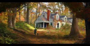 abandoned 'autumn' by LMorse