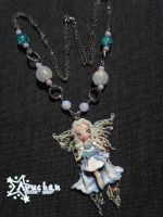 OOAK Winter Fairy - Enchanted Forest Collection by AyumiDesign