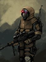 The Sniper by FonteArt